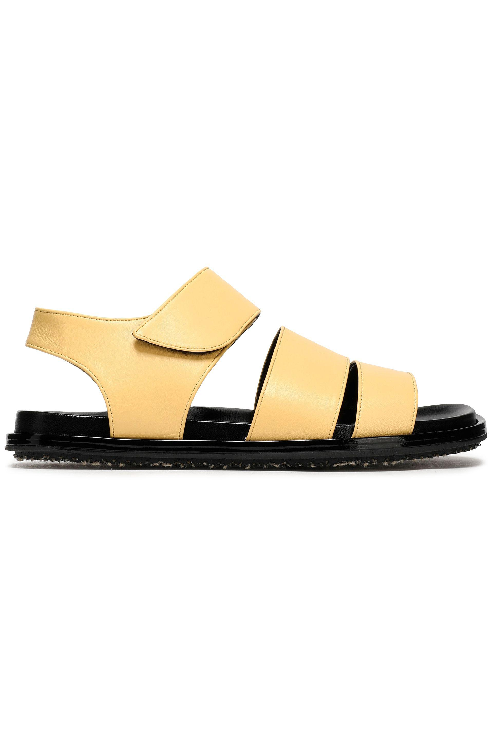 Marni Woman Leather Sandals Light Size 40 TuzQ9YgS