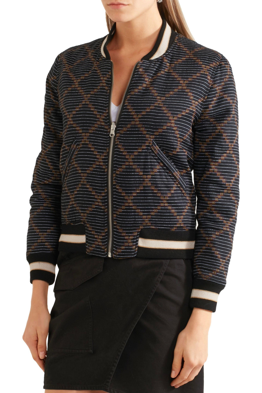53fd0358ce Étoile Isabel Marant Dabney Reversible Printed Cotton Bomber Jacket ...