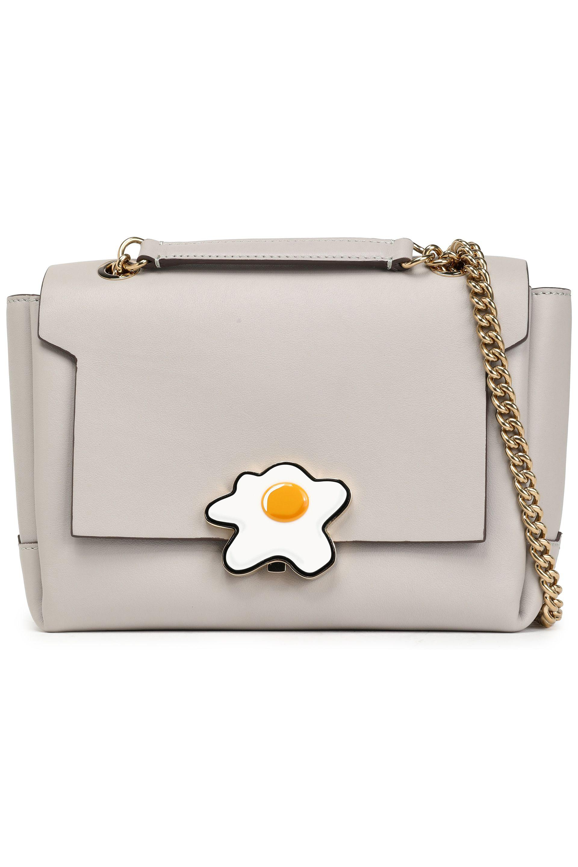 638a2093e8c1 Lyst - Anya Hindmarch Bathurst Embellished Leather Shoulder Bag