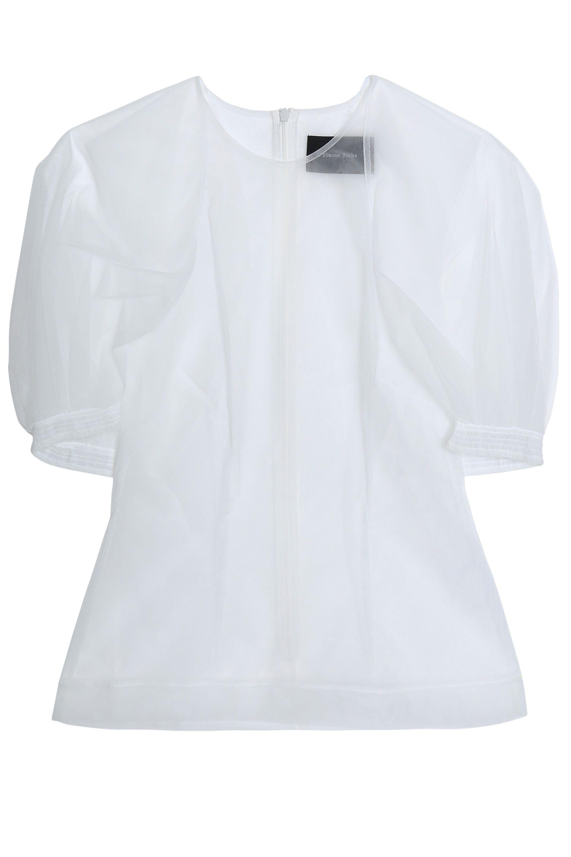 Rochas Woman Lace-trimmed Jersey Top Black Size 44 Rochas Buy Online Cheap tA6ZJz5wXC