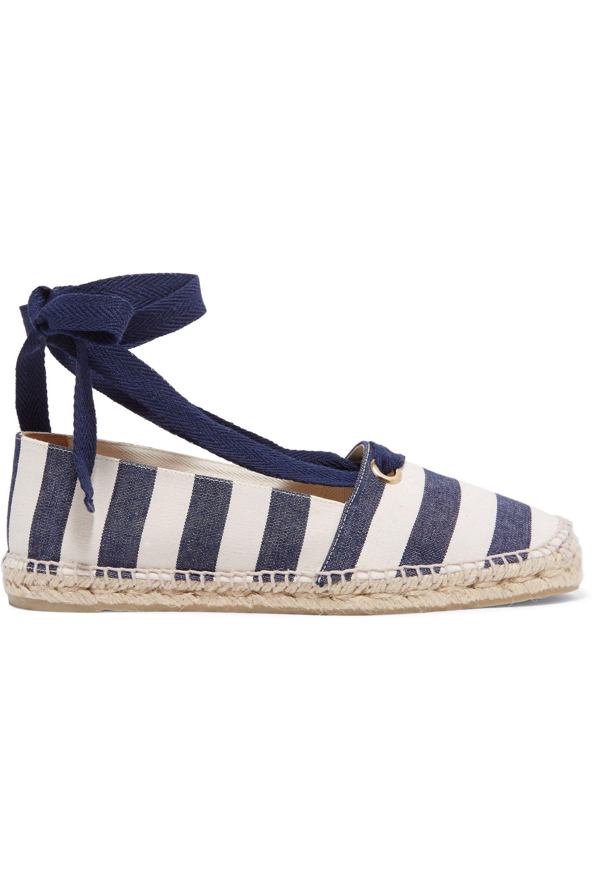 ded3fa5cb Lyst - Castaner Kanda Rayas Striped Canvas Espadrilles in Blue