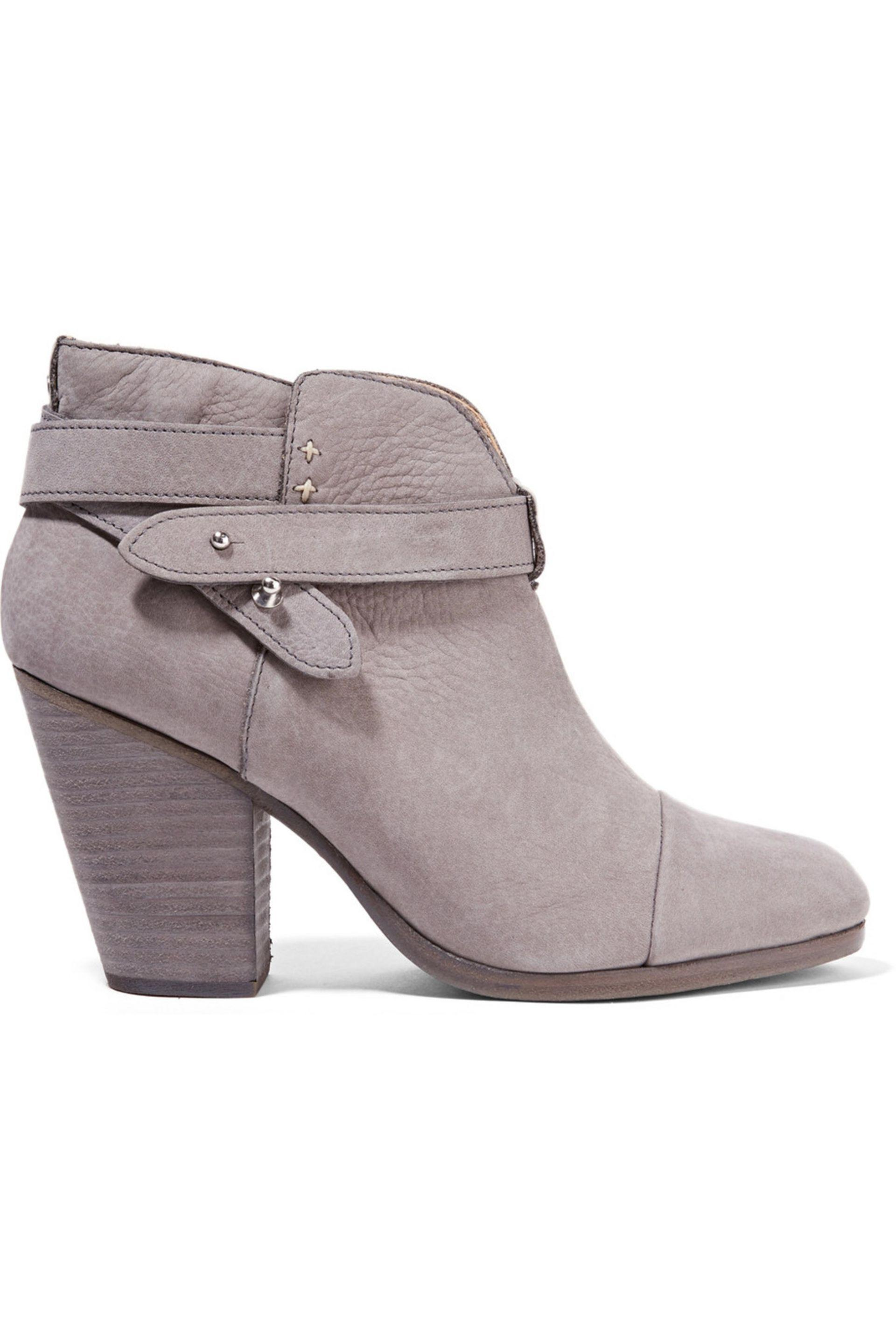 Rag & Bone. Women's Harrow Nubuck Ankle Boots