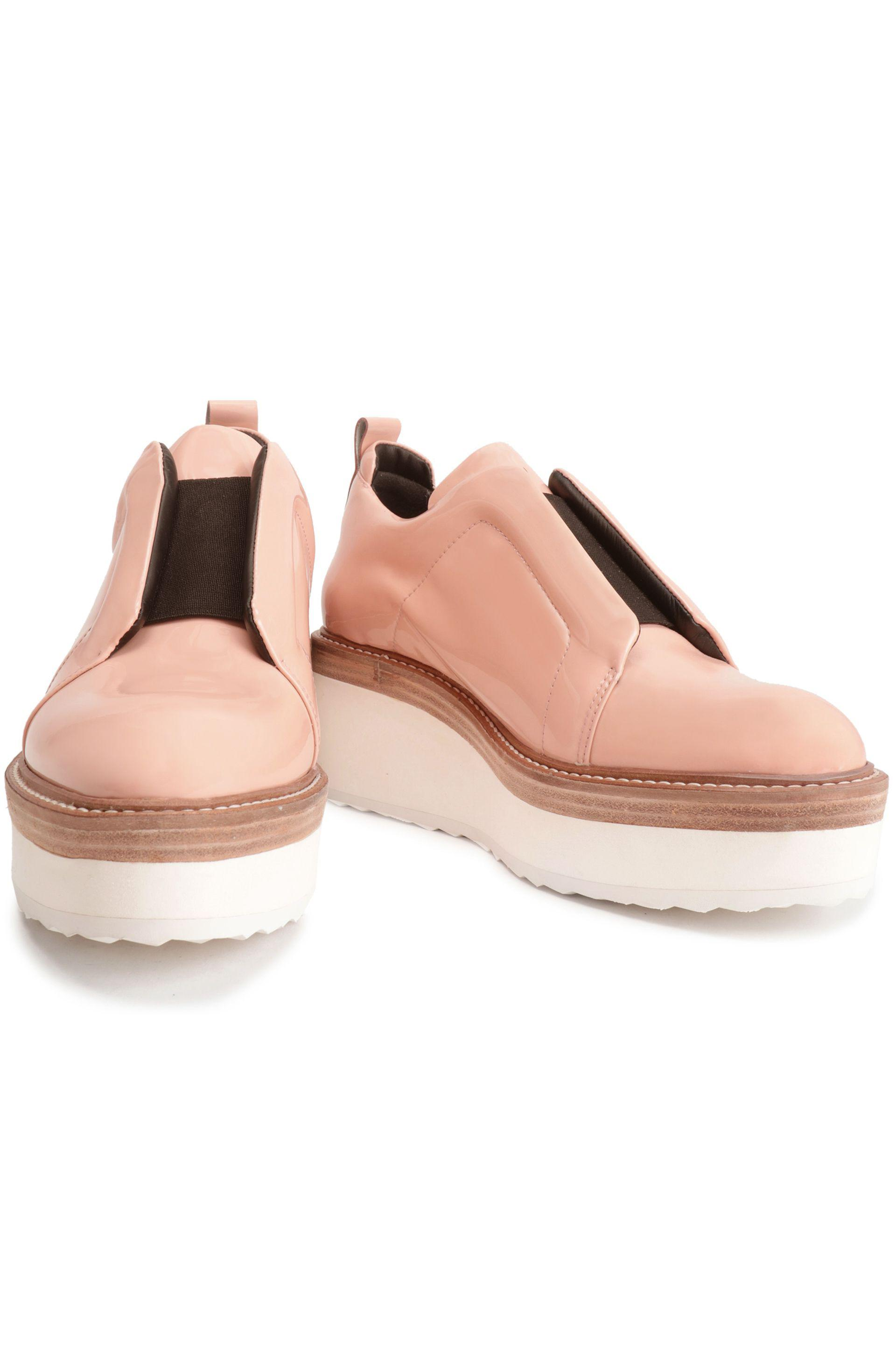 Authentic For Sale Pierre Hardy Woman Two-tone Patent Leather Sneakers Pink Size 35 Pierre Hardy Discount Brand New Unisex Purchase Sale Online XkPRb