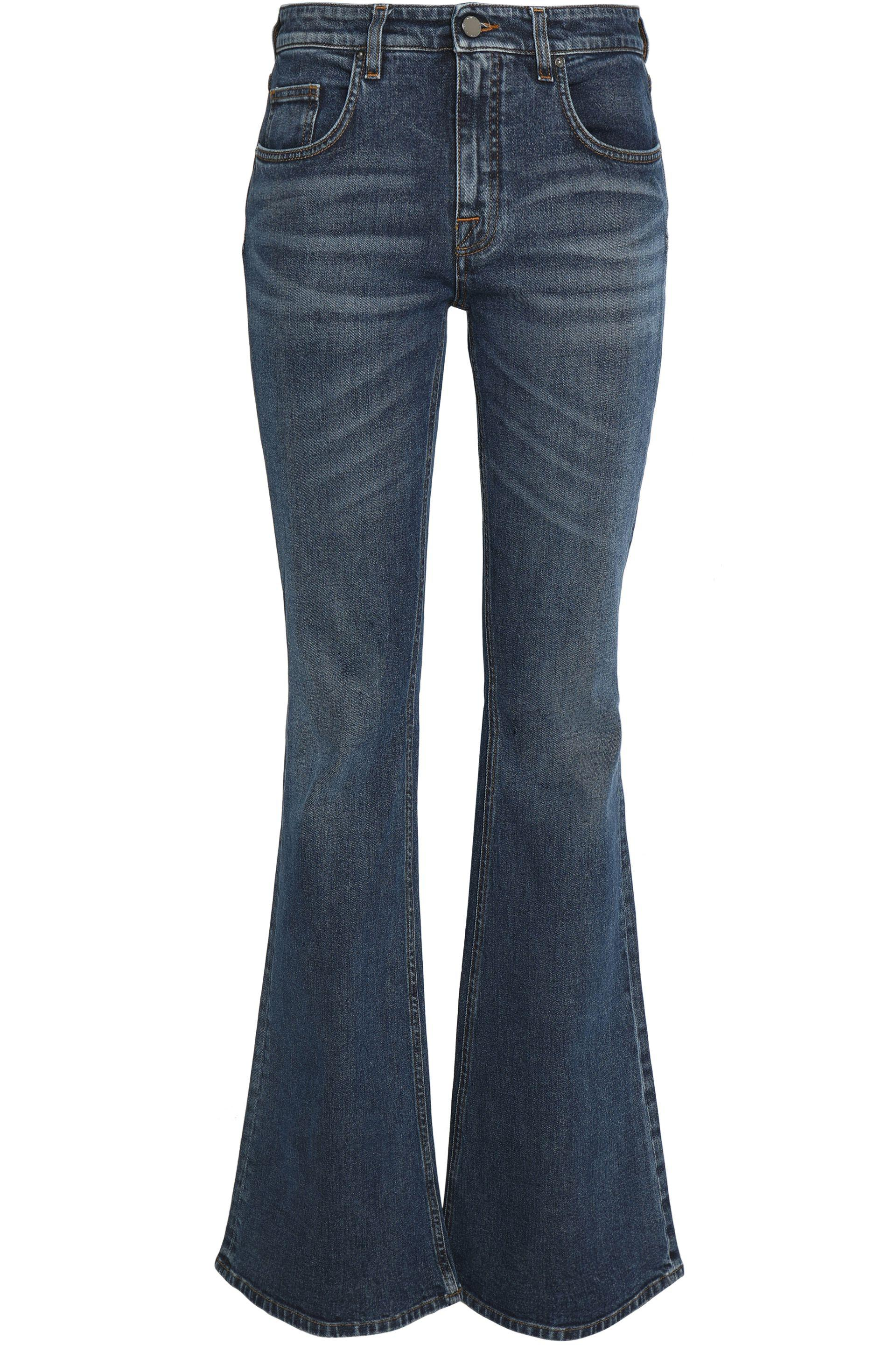 faded flared jeans - Blue Victoria Beckham CK8wCxpc