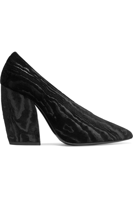 4e3142ed81b Women s Woman Paloma Devoré-satin Pumps Black