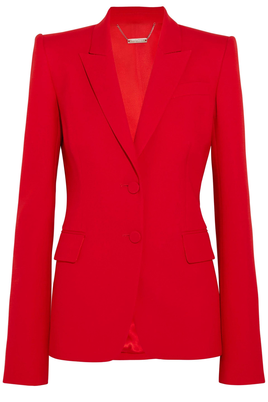 Alexander Mcqueen Wool-blend Blazer in Red - Save 55.0140056022409 ... 71bdbc0e850
