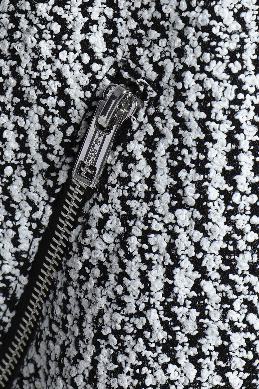 c824eeebe9 3.1 Phillip Lim Woman Bouclé-tweed Bomber Jacket Black in Black ...