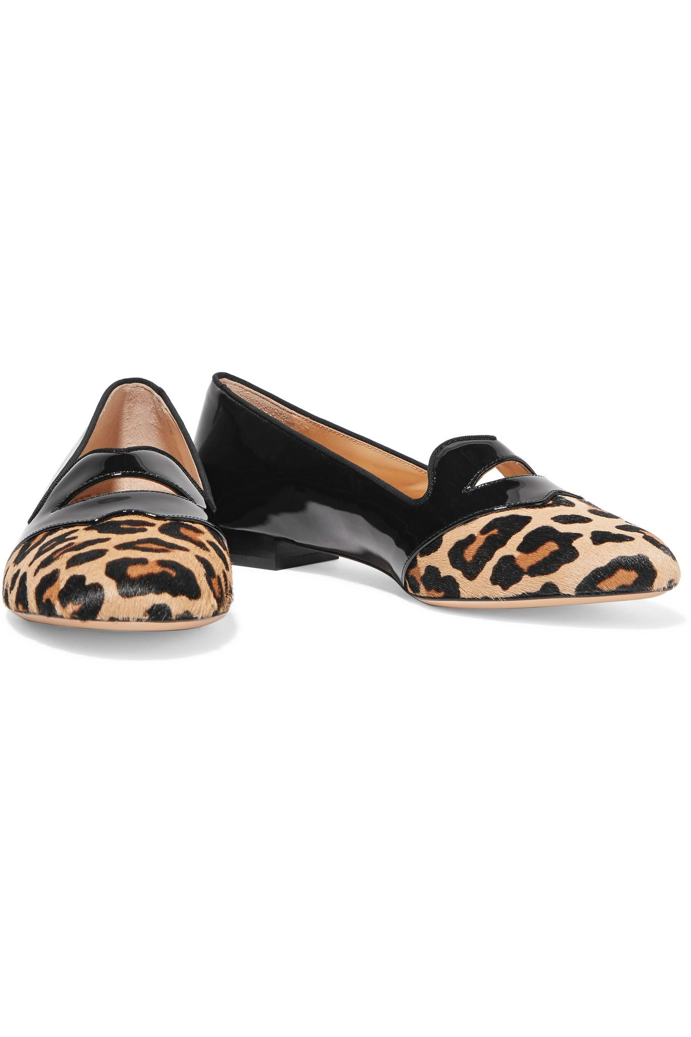 Charlotte Olympia Ponyhair Bisoux Flats sale 2014 unisex sale huge surprise discount geniue stockist pre order cheap price latest collections cheap price 3vzYxQ