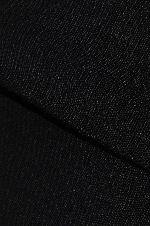 0b1d1aadb Rick Owens - Woman Pillar Split-back Stretch-shell Pencil Skirt Black -  Lyst. View fullscreen