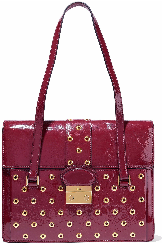 6ffb36af795ff red-valentino-Merlot-Eyelet-embellished-Textured-Patent-leather-Shoulder-Bag.jpeg