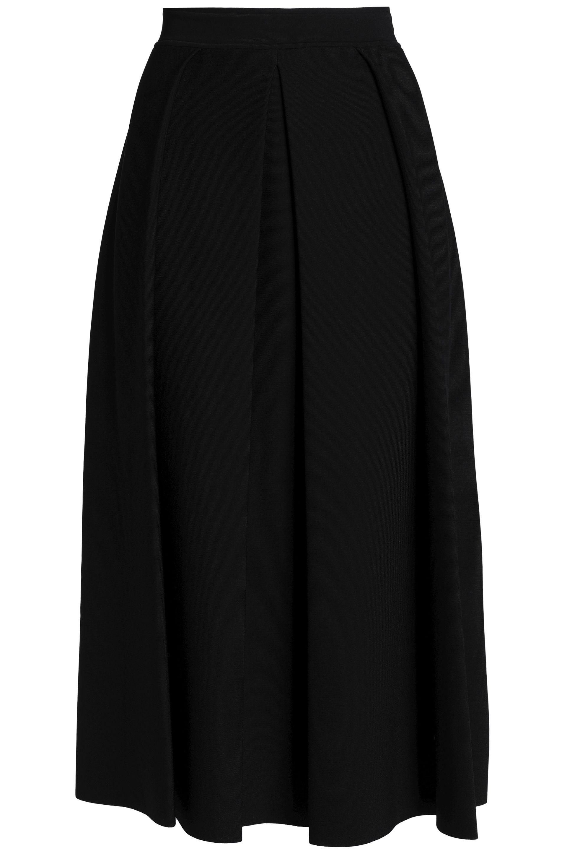 5146deca2c Gentry Portofino Ponte Midi Skirt in Black - Lyst
