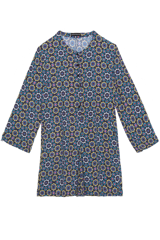 Antik Batik Woman Arty Floral-print Crepe Playsuit Cobalt Blue Size 42 Antik Batik Buy Cheap Supply Cheap Comfortable Cheap Marketable 344I72q