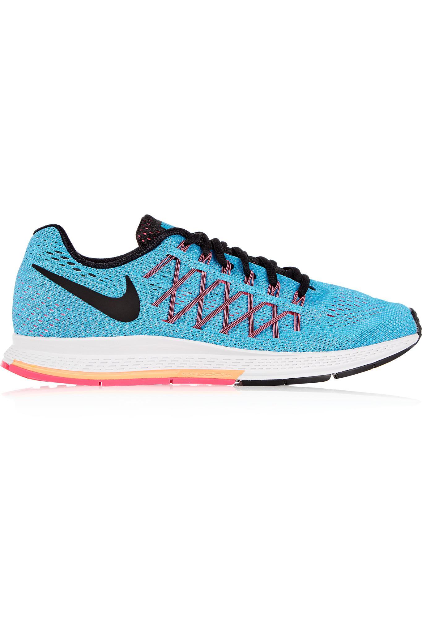 new arrival 97a43 9b300 Lyst - Nike Air Zoom Pegasus 32 Mesh Sneakers in Blue