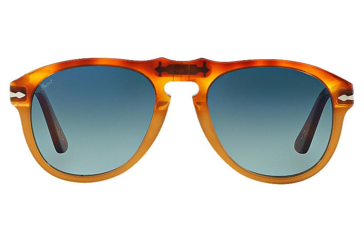 d5776215db Lyst - Persol Icons Po0649 1025 s3 Resina E Sale With Blue Lenses ...