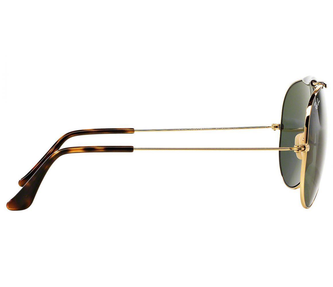 ca5f7c7910 Ray-Ban - Metallic Outdoorsman Ii Rb3029 181 Gold And Tortoiseshell Frames  With Grey Lenses. View fullscreen