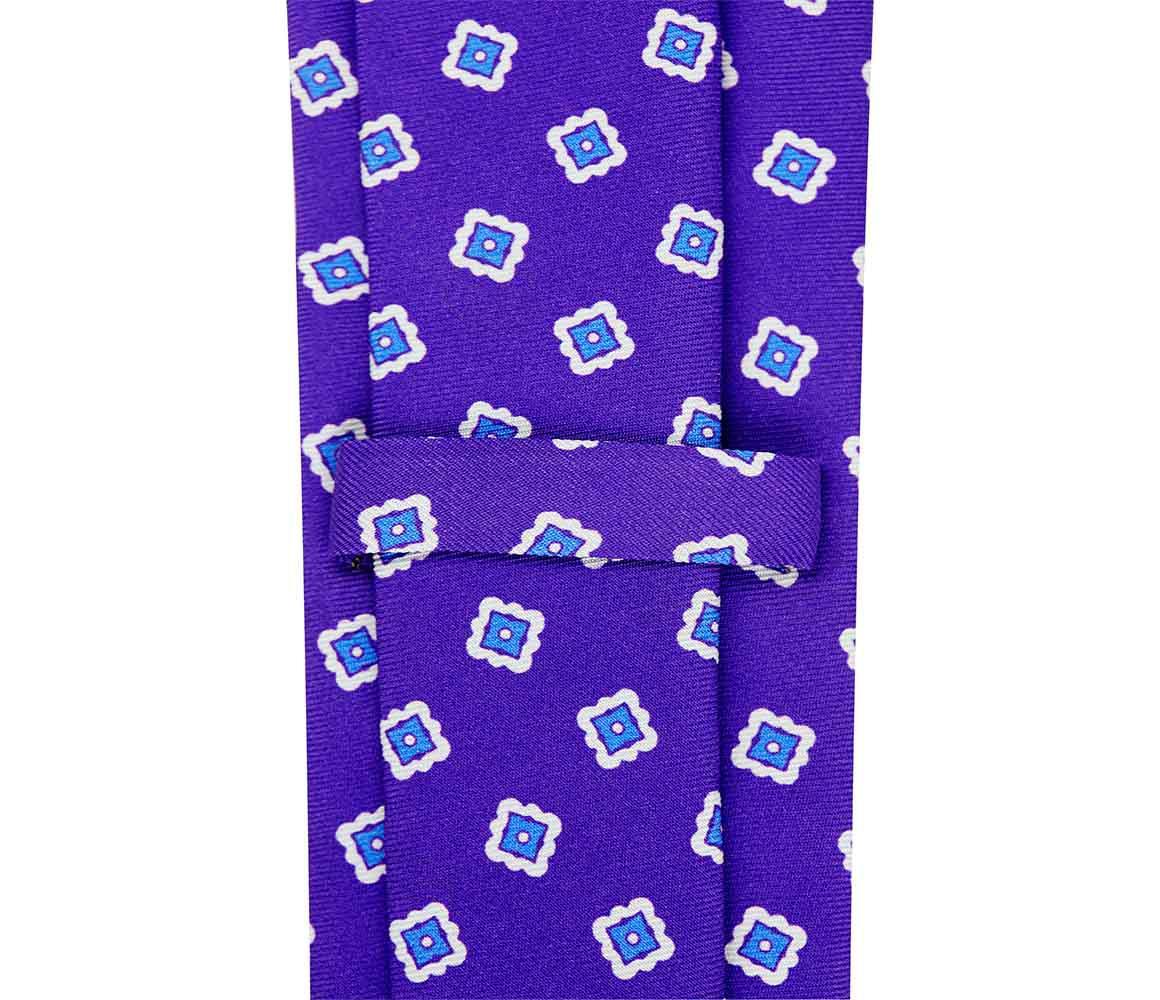 Violet Ambstract Diamond Silk Tie Rubinacci 7Bk6fdTx91