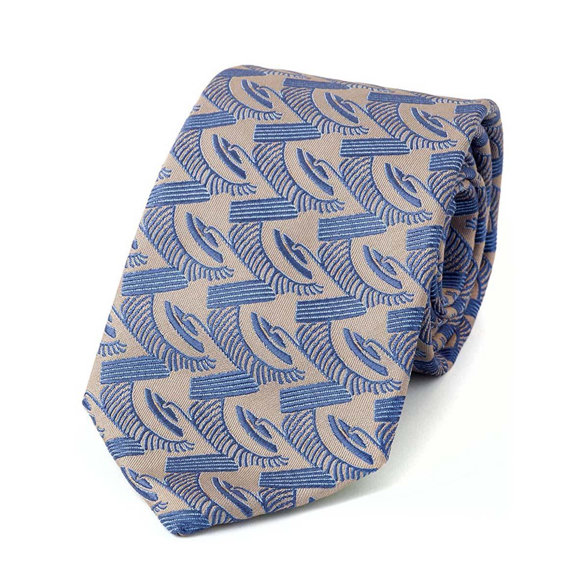 Sky and Navy Myan Silk Bow Tie Augustus Hare nPxs0YdKrw