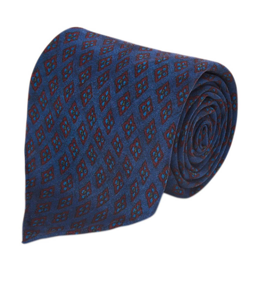 Buy Online With Paypal Blue Floral Five-Fold Silk Tie Fumagalli 1891 Choice Cheap Extremely 0MctAqzgZ