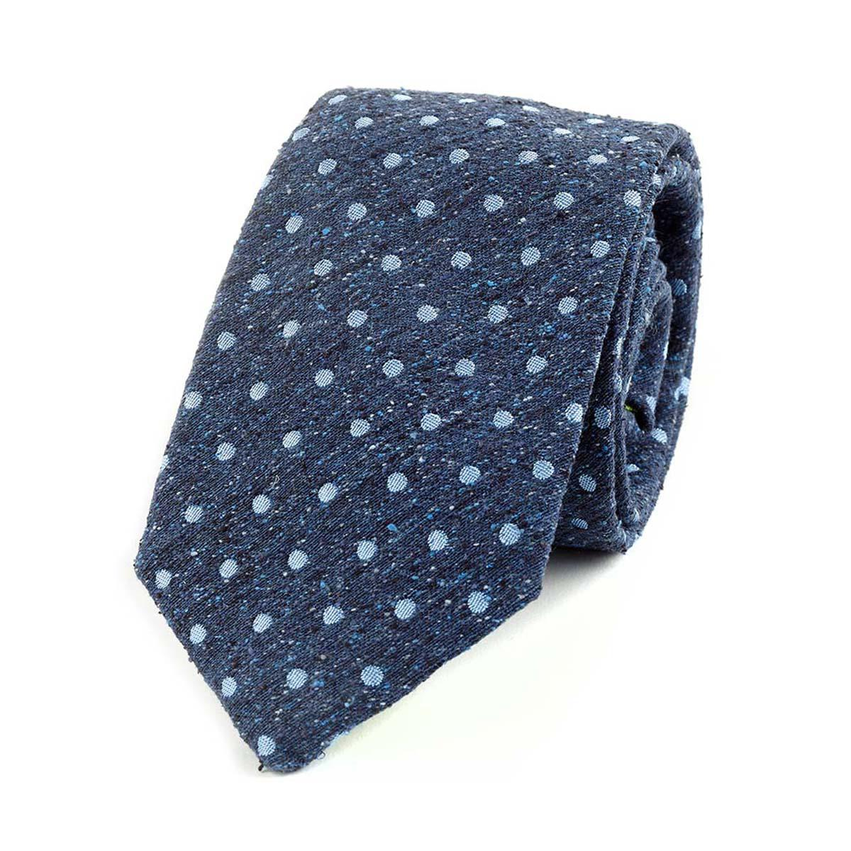 Navy and Green Oswalk Silk Tie Augustus Hare kvgIPtu