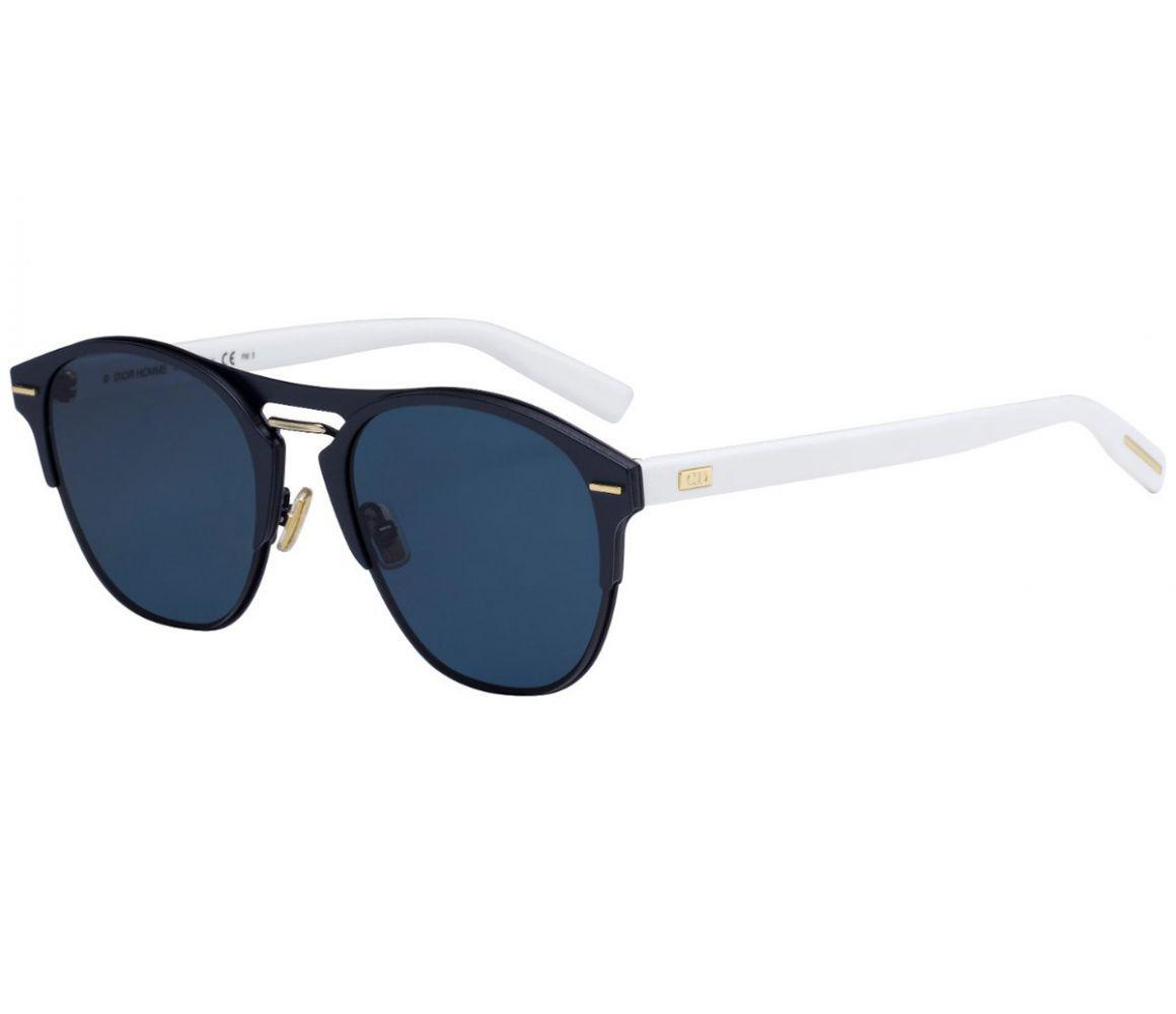6f75bbc4d953 Dior Homme Dior Chrono Black And White Frames With Black Lenses ...