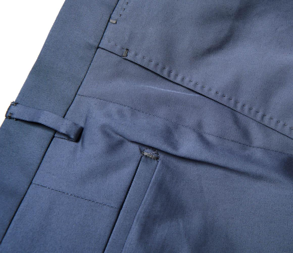 Light Navy Casual Cotton Trousers Rubinacci Order Sale Online tbuObjUEu
