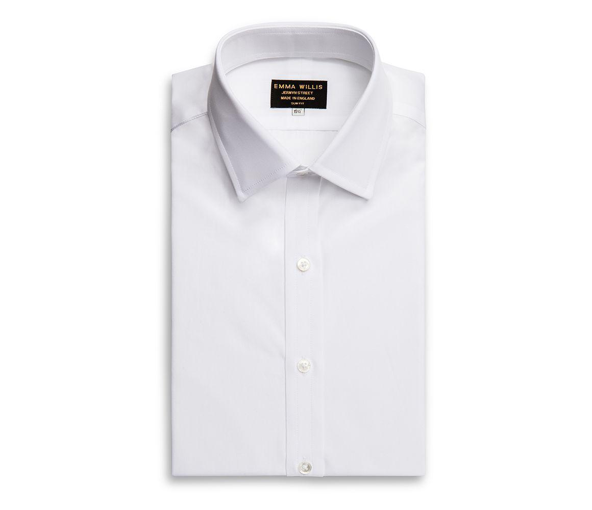 Lyst Emma Willis White Sea Island Cotton Shirt In White For Men