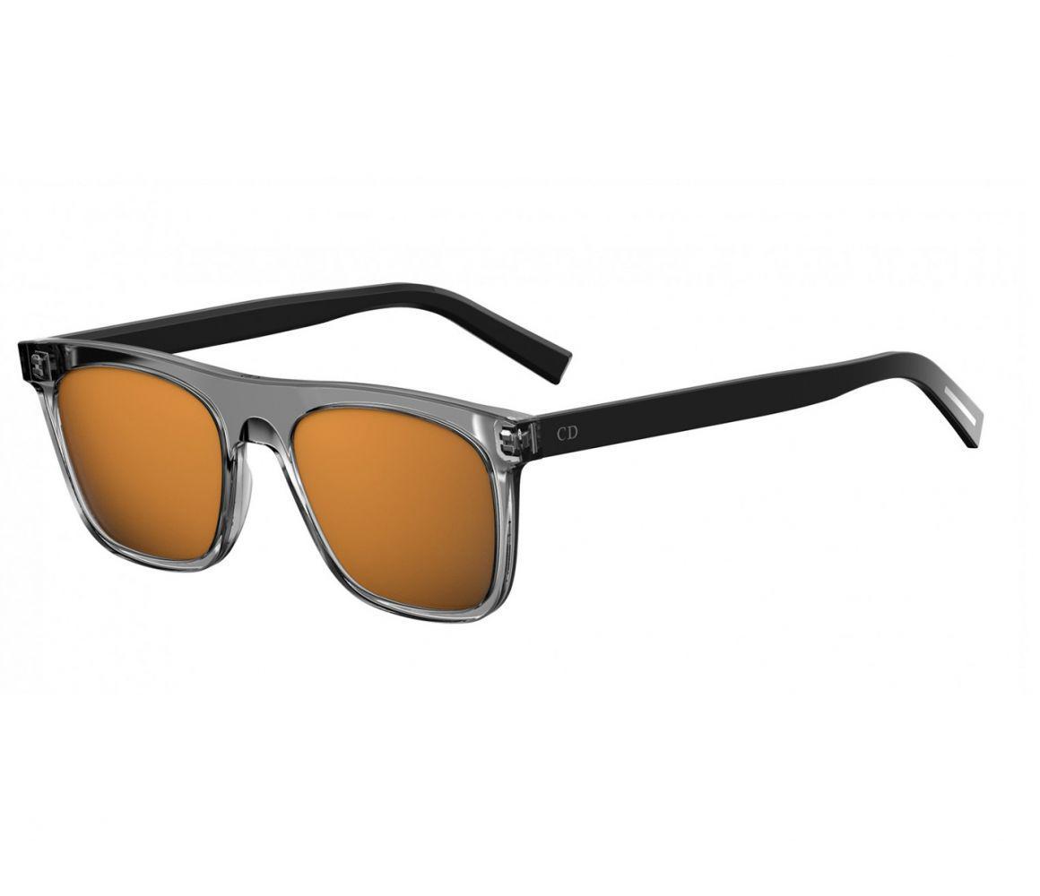 b2d60064eab Lyst - Dior Homme Grey And Black Frames With Orange Lenses R6s 83 2k ...