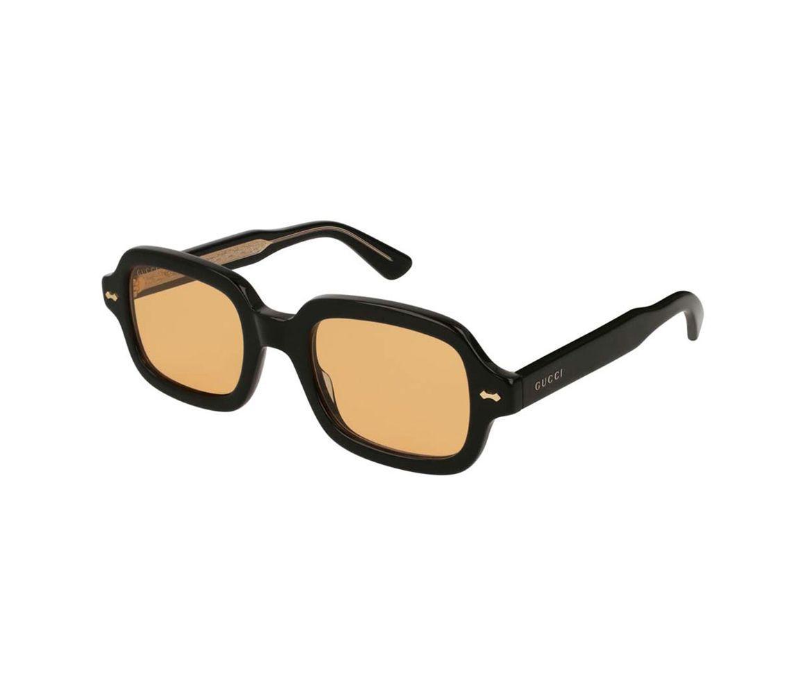 0762b5fba61 Lyst - Gucci Black Acetate GG0072S-002 Thick Rectangle Sunglasses in ...