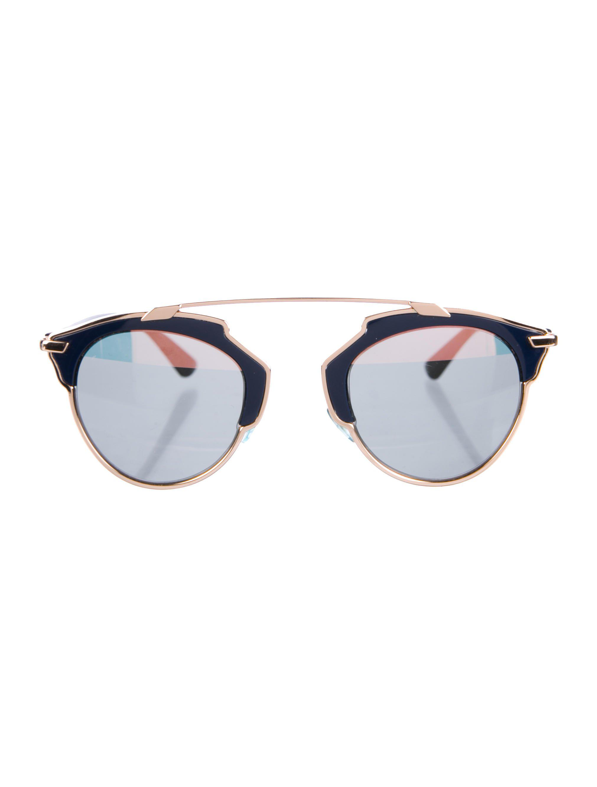 a8631449a764 Lyst - Dior So Real Sunglasses Rose in Metallic