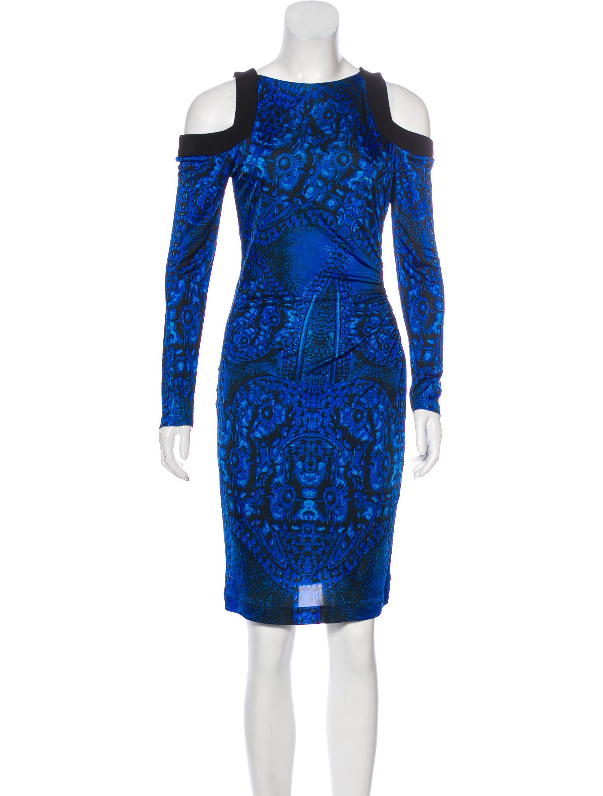 cold shoulder dress - Black Roberto Cavalli 0JX53bj