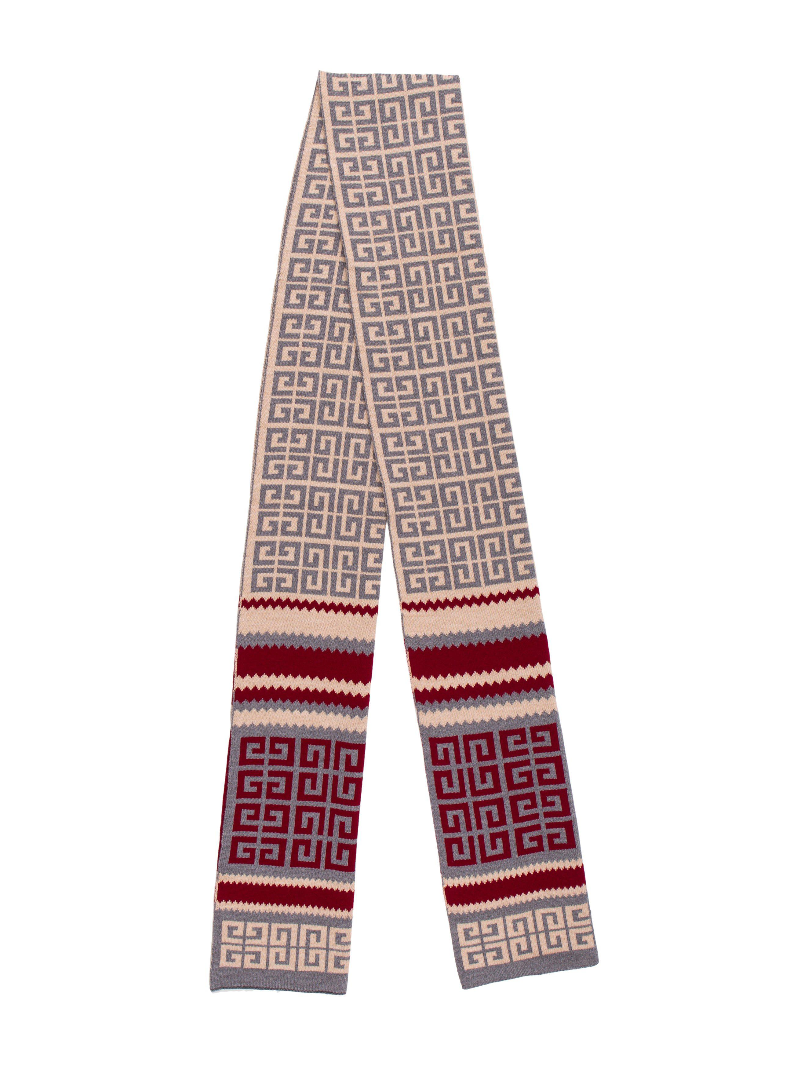 Wool logo scarf Givenchy zF7CML0dN