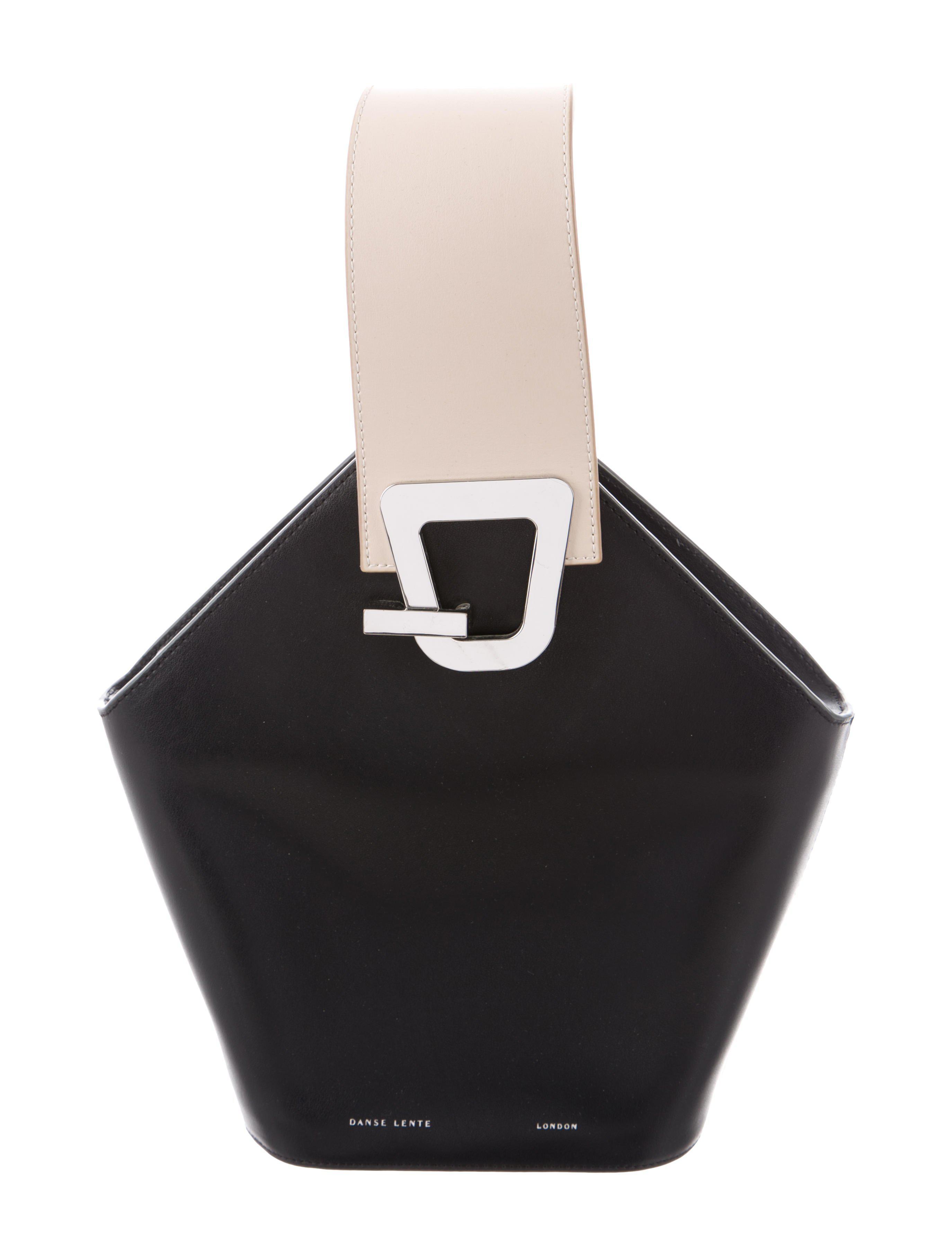 b72bb23709ca Lyst - Danse Lente Johnny Bucket Bag Black in Metallic