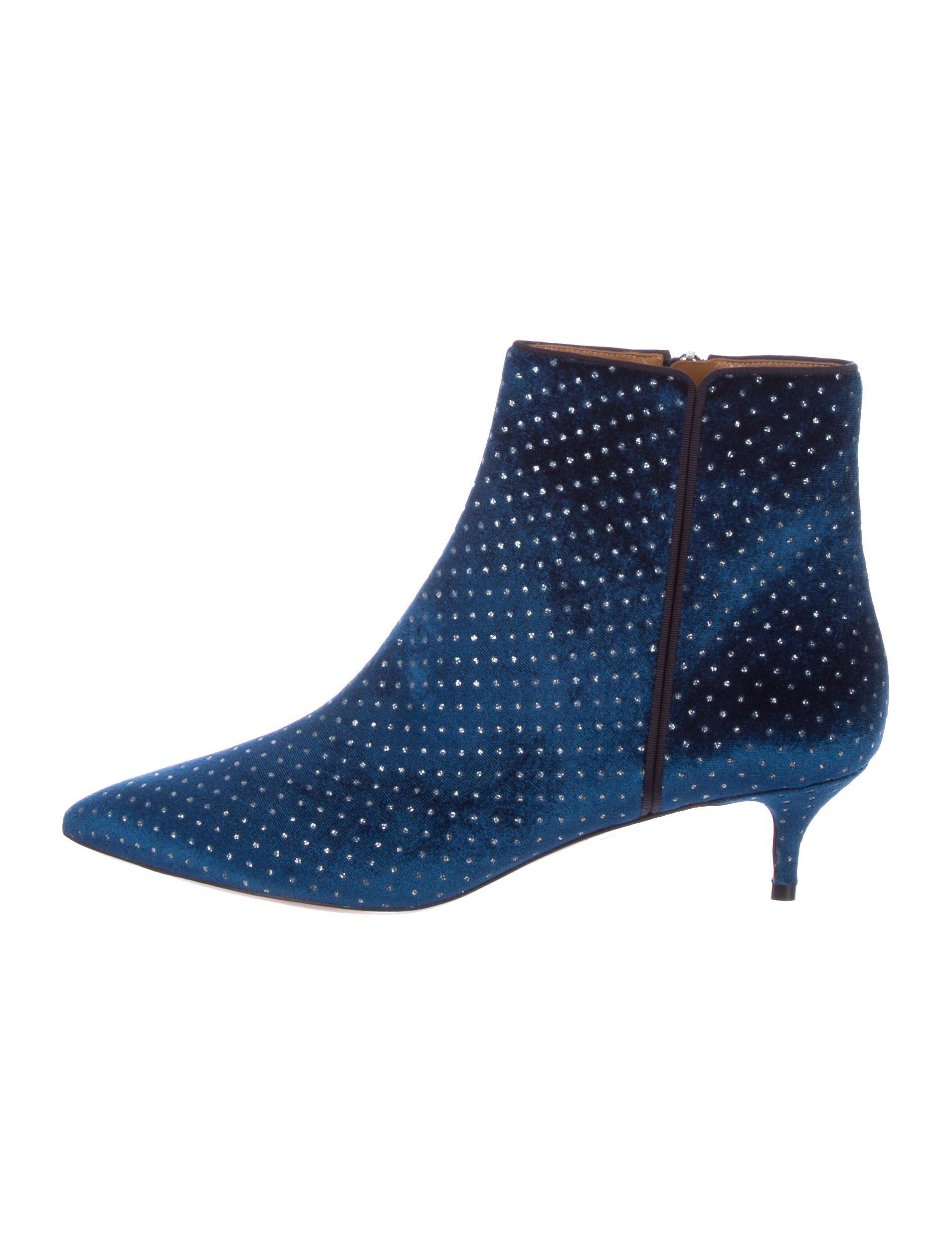 shopping online outlet sale Aquazzura Quant Embellished Booties w/ Tags clearance classic comfortable online good selling cheap price HWA1CD3