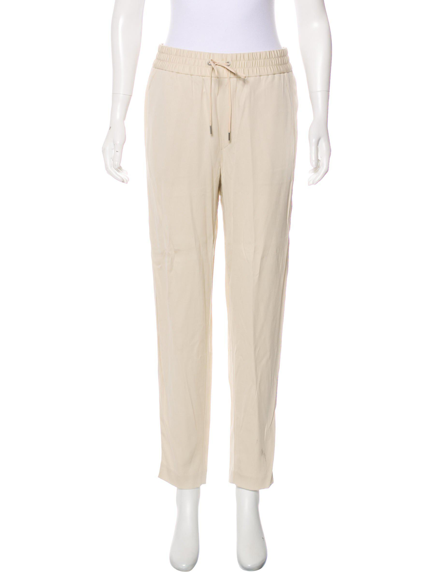 6cbc9085f1 Lyst - Helmut Lang Revolve High-rise Pants in White