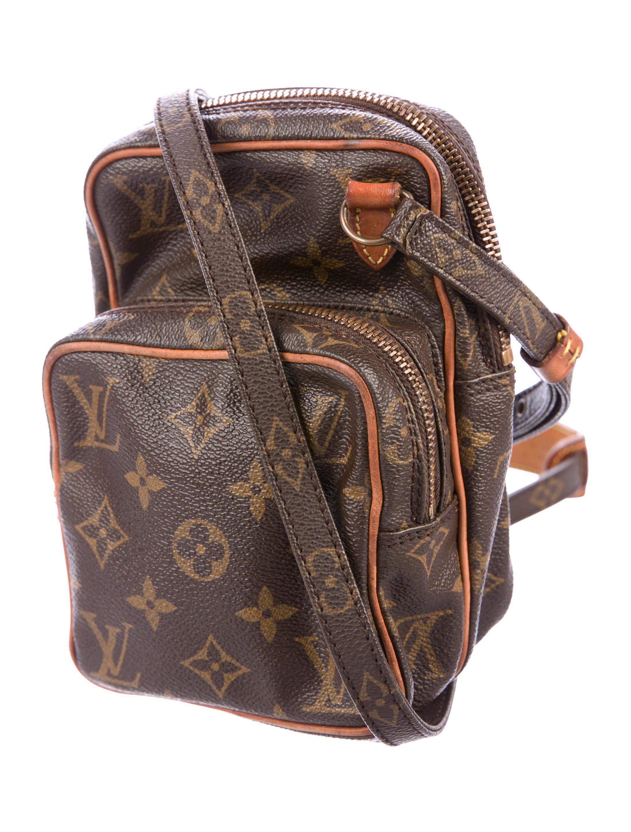 09be791b78b9 Lyst - Louis Vuitton Monogram Mini Amazone Bag Brown in Natural for Men