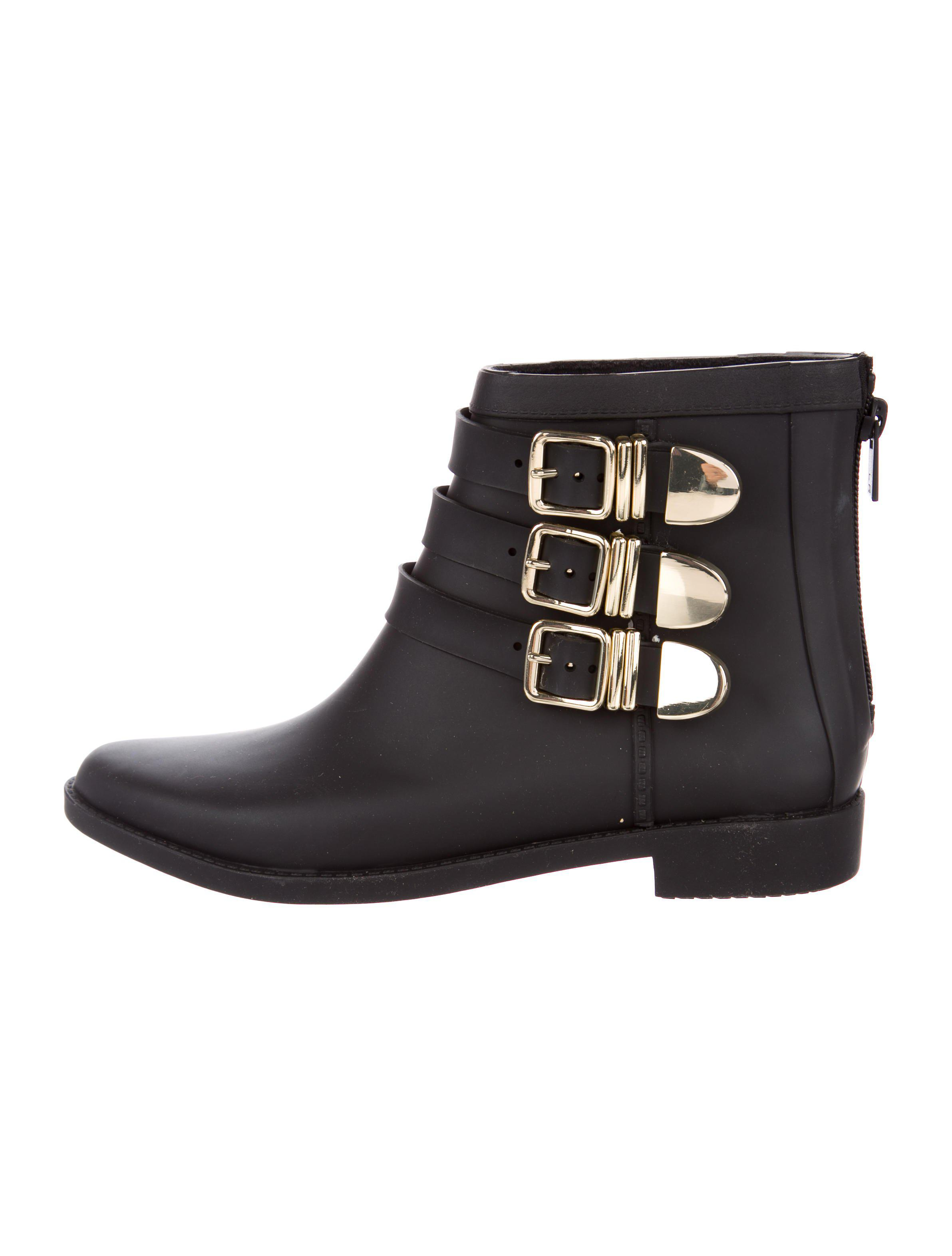 Loeffler Randall Rubber Round-Toe Ankle Boots sale visit new pre order for sale Ut33393XMD