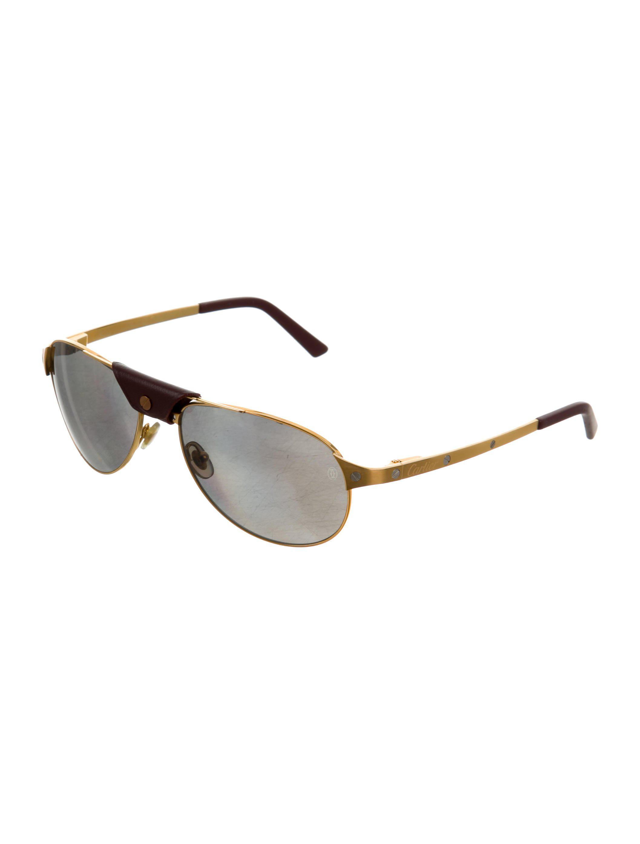 04e3d40ffb38 Cartier Aviator Sunglasses Gold - Restaurant and Palinka Bar