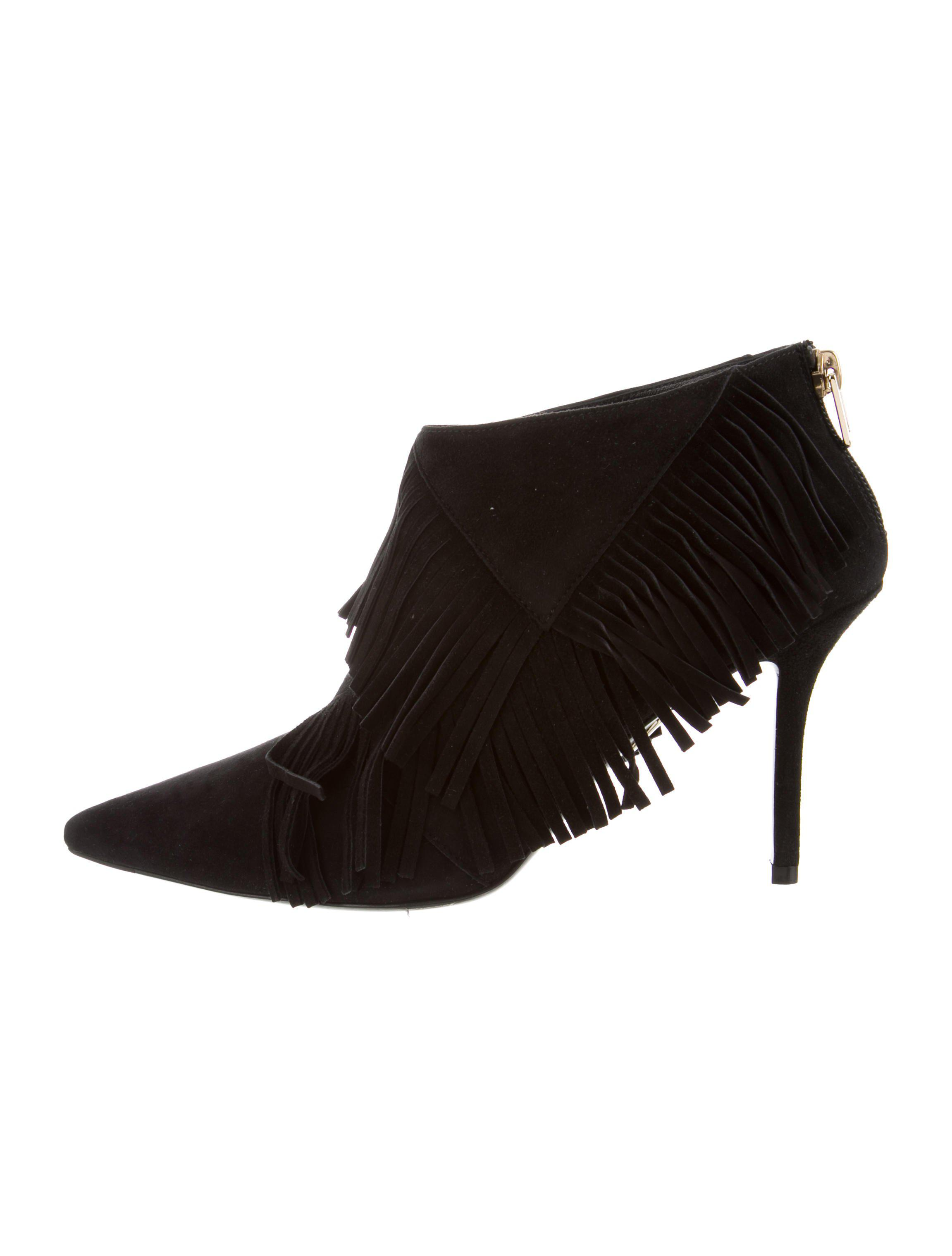 Roger Vivier Pointed-Toe Fringe Booties w/ Tags with paypal for sale 0q4kcwL93v