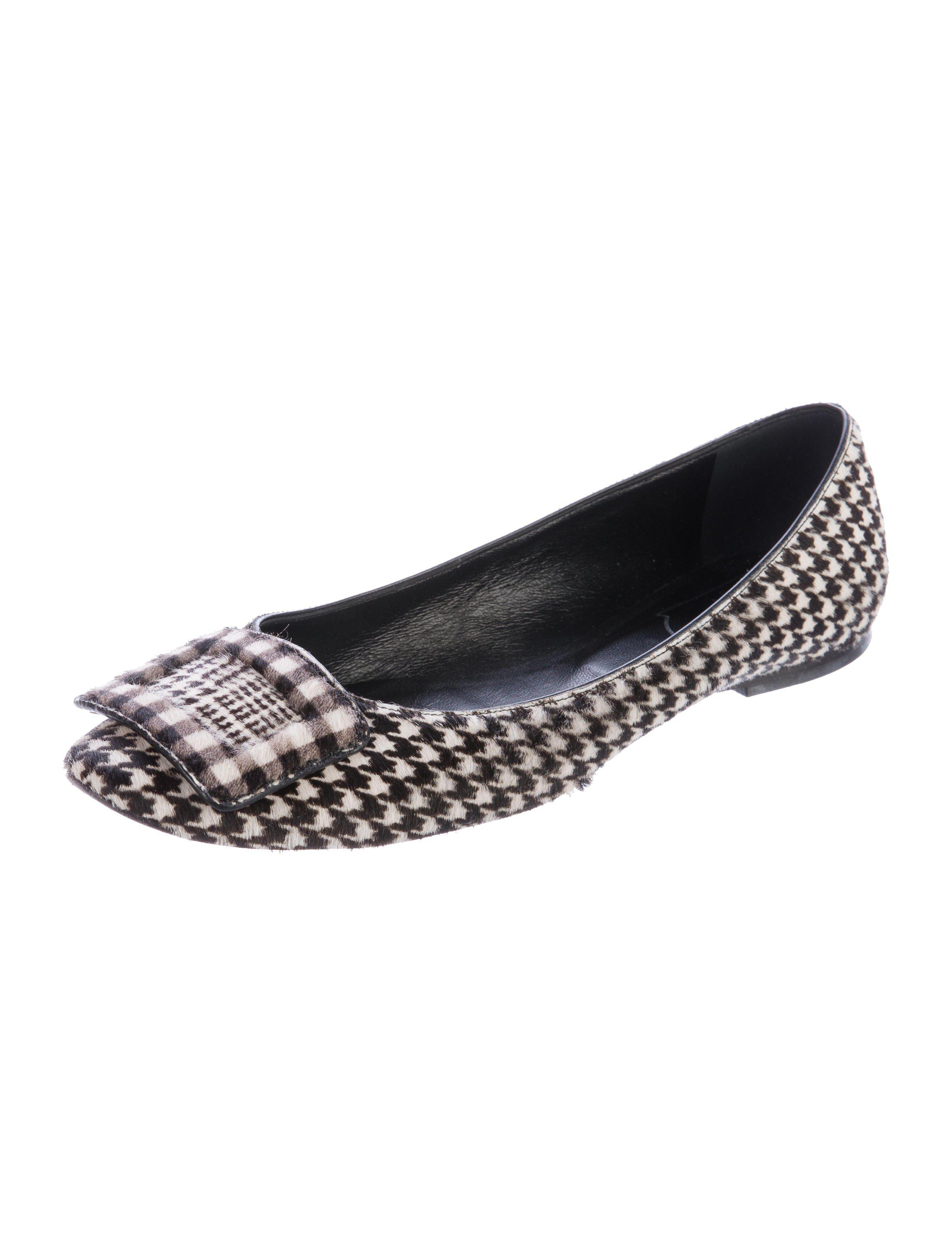 outlet best prices free shipping professional Roger Vivier Ponyhair Round-Toe Loafers cheap 2015 new buy cheap real hPmMhoi5Ov
