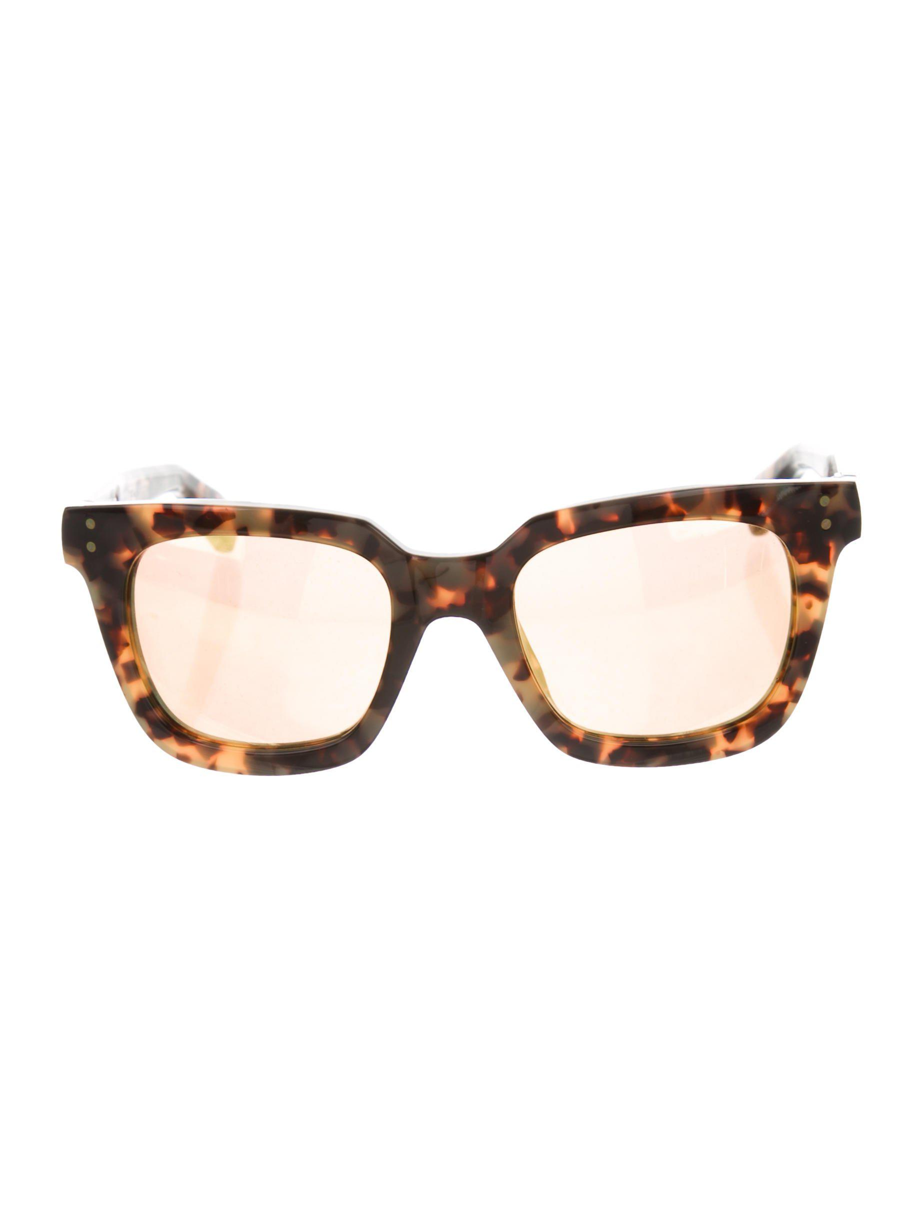 6f5c66a19ab9 Lyst - Marc Jacobs Tortoiseshell Acetate Sunglasses Brown in Yellow