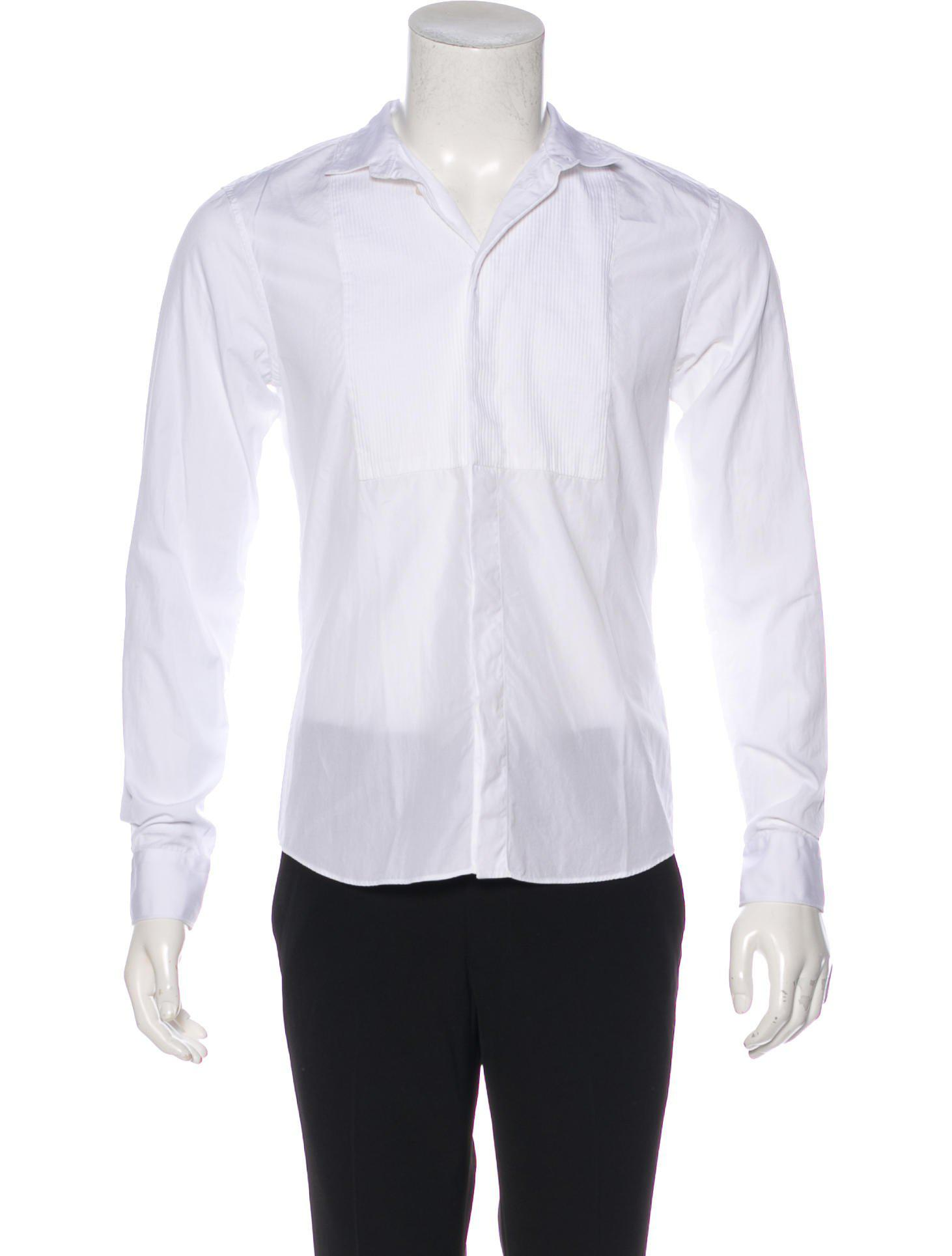52c2fc97d8bc75 Givenchy - White 2016 Tuxedo Shirt for Men - Lyst. View fullscreen