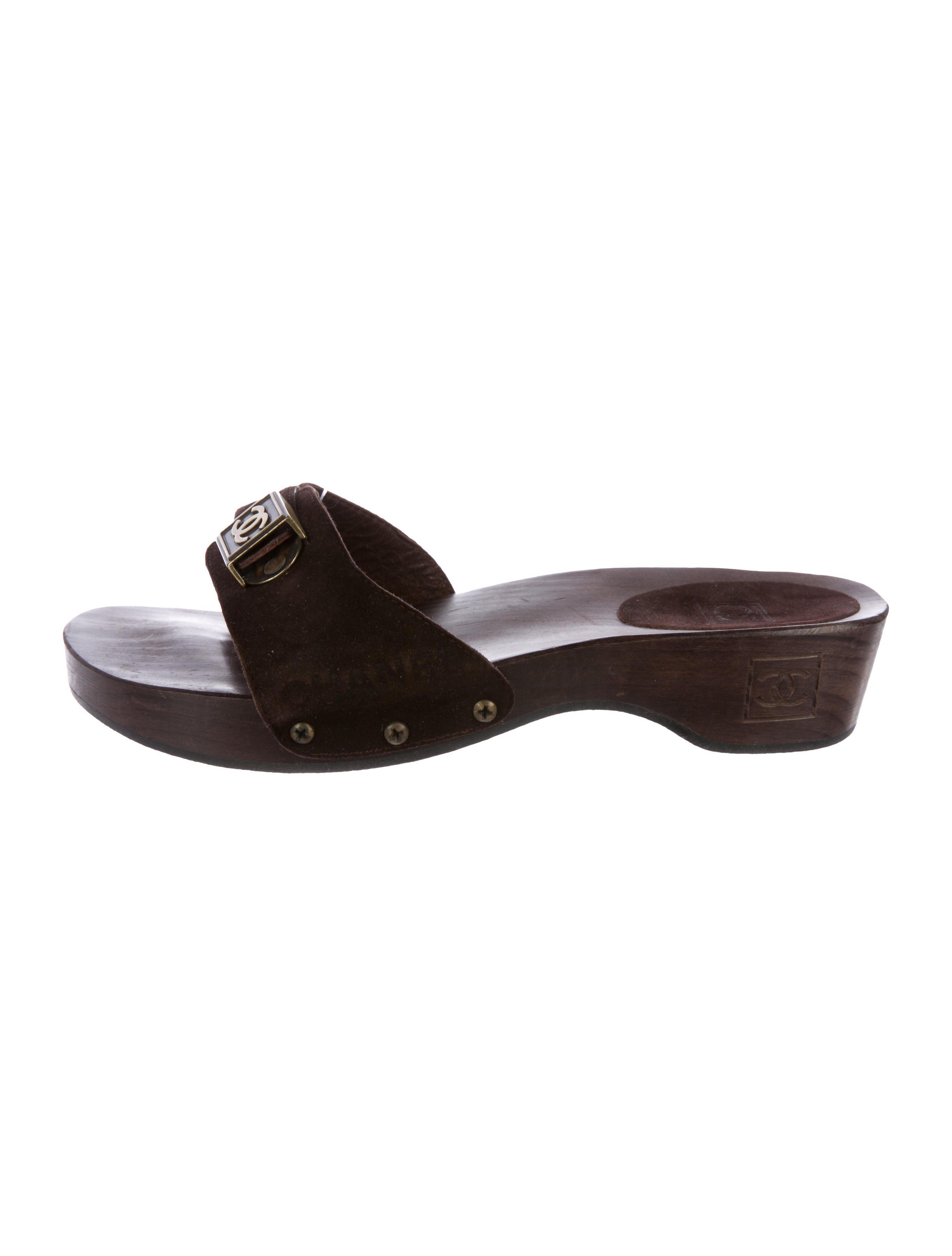 Calvin Klein 205W39NYC Black Suede Harput Slides GC9vbbcUEE