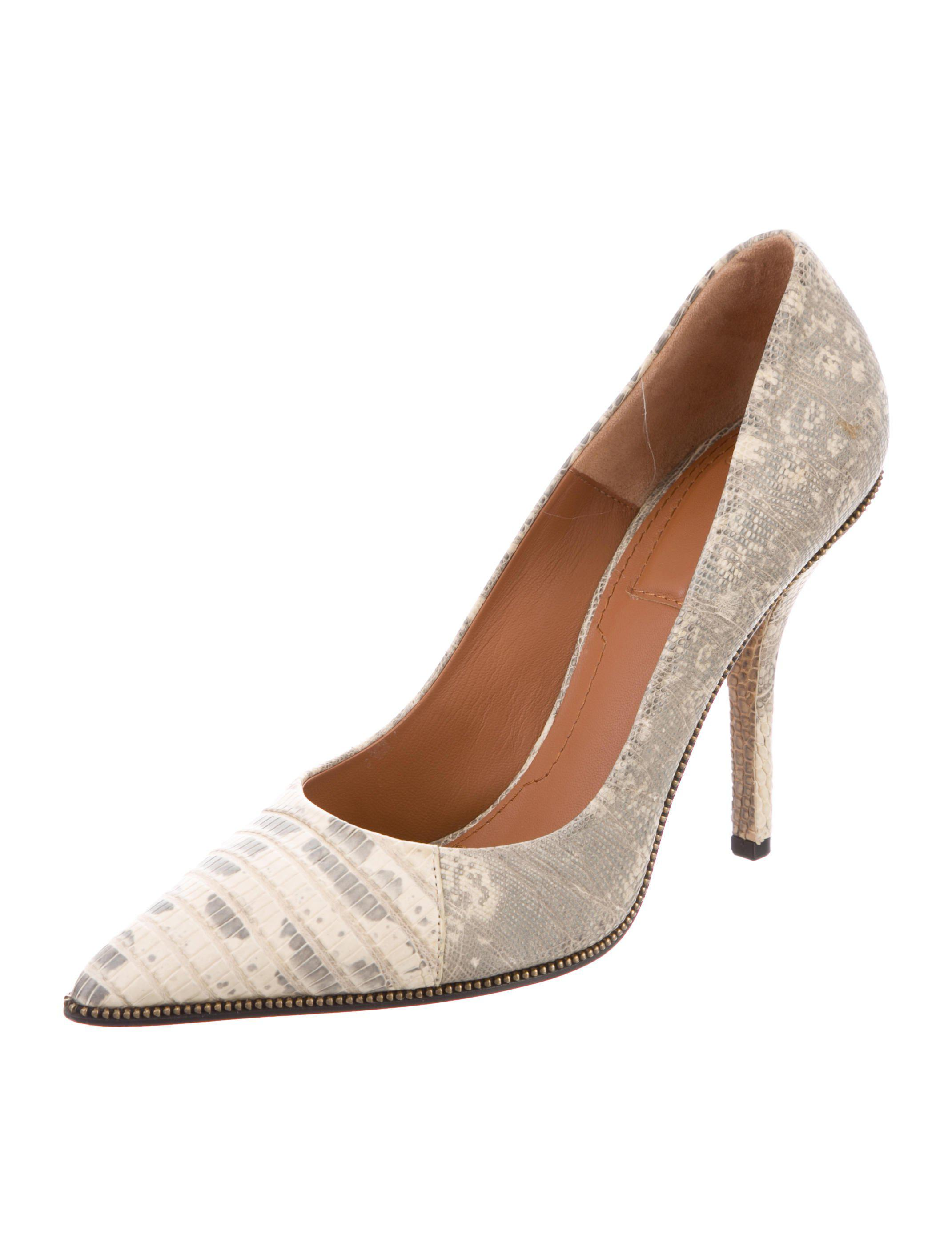 deals cheap online Givenchy Lizard Pointed-Toe Pumps sale eastbay with credit card online discount recommend cheap price for sale 63oQEci6L
