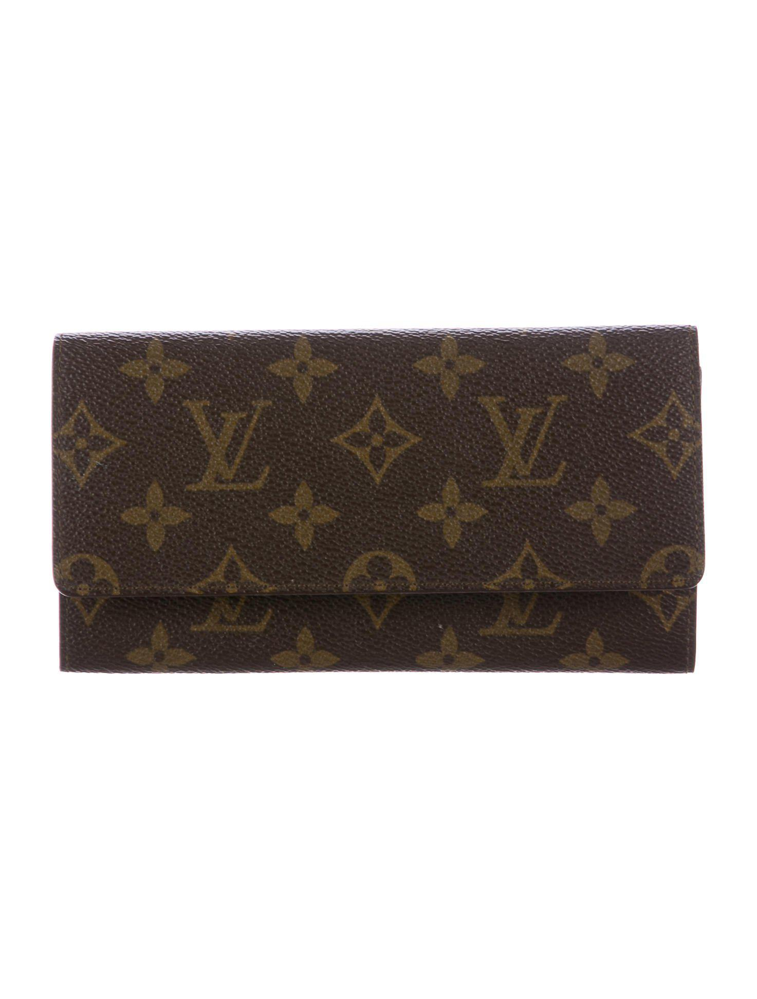 Lyst Louis Vuitton Vintage Monogram Portecarte Credit Yen Tan In - Porte carte credit