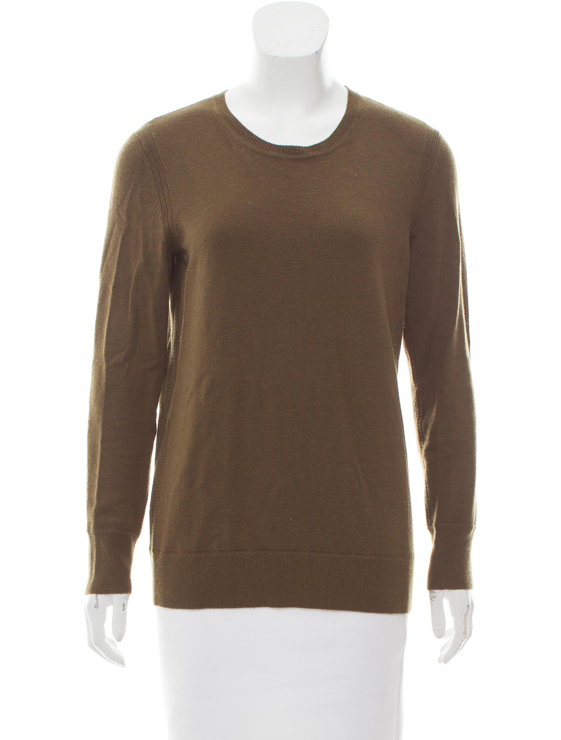 edafdc463a7f Lyst - Rag   Bone Wool Lightweight Sweater Olive in Green