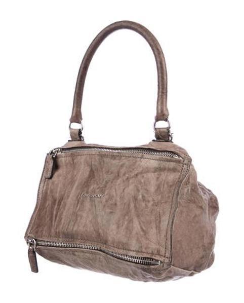 6c9d73d223 Givenchy - Metallic Small Pandora Bag Brown - Lyst. View fullscreen