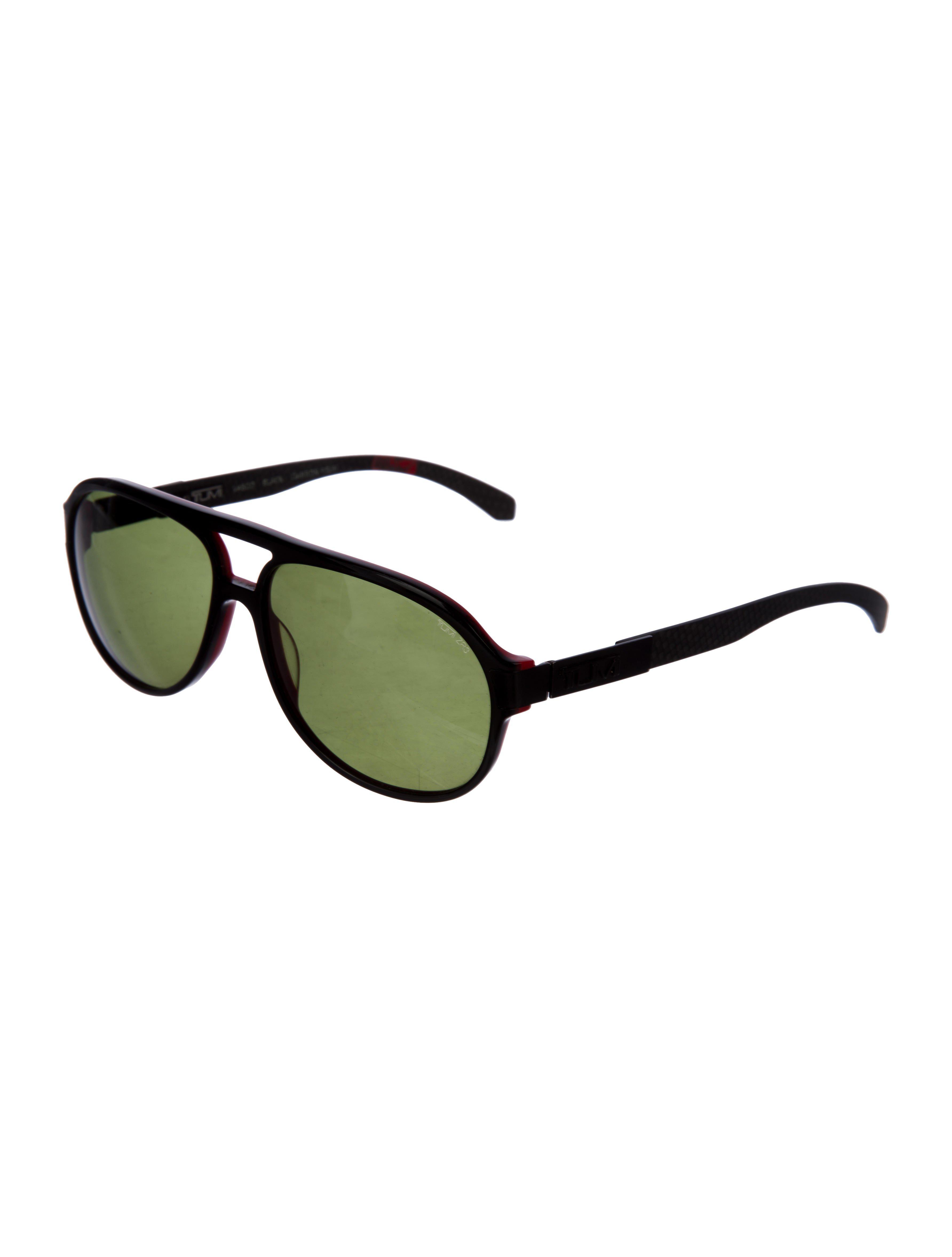 2323a783ac Tumi - Black Polarized Cat 3 Sunglasses - Lyst. View fullscreen
