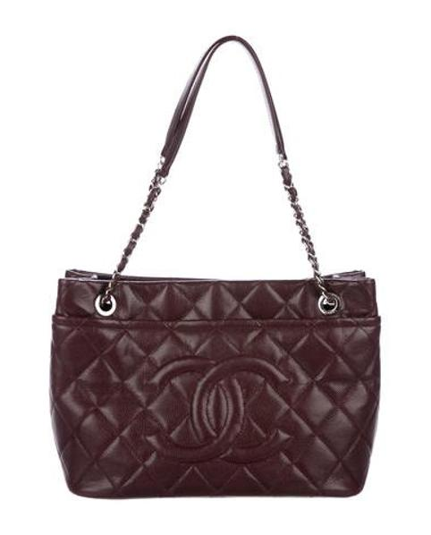 Lyst - Chanel Timeless Soft Shopper Tote Silver in Metallic a4b3be6a4bd08
