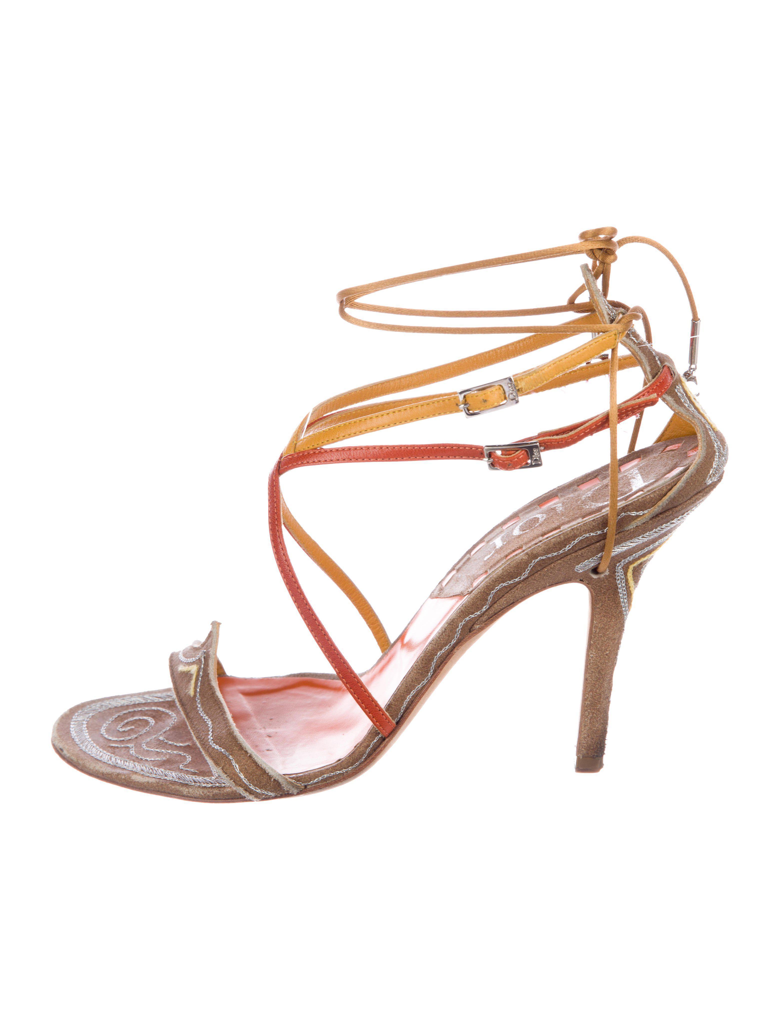 Dior Suede Sandals SCN47sksJS