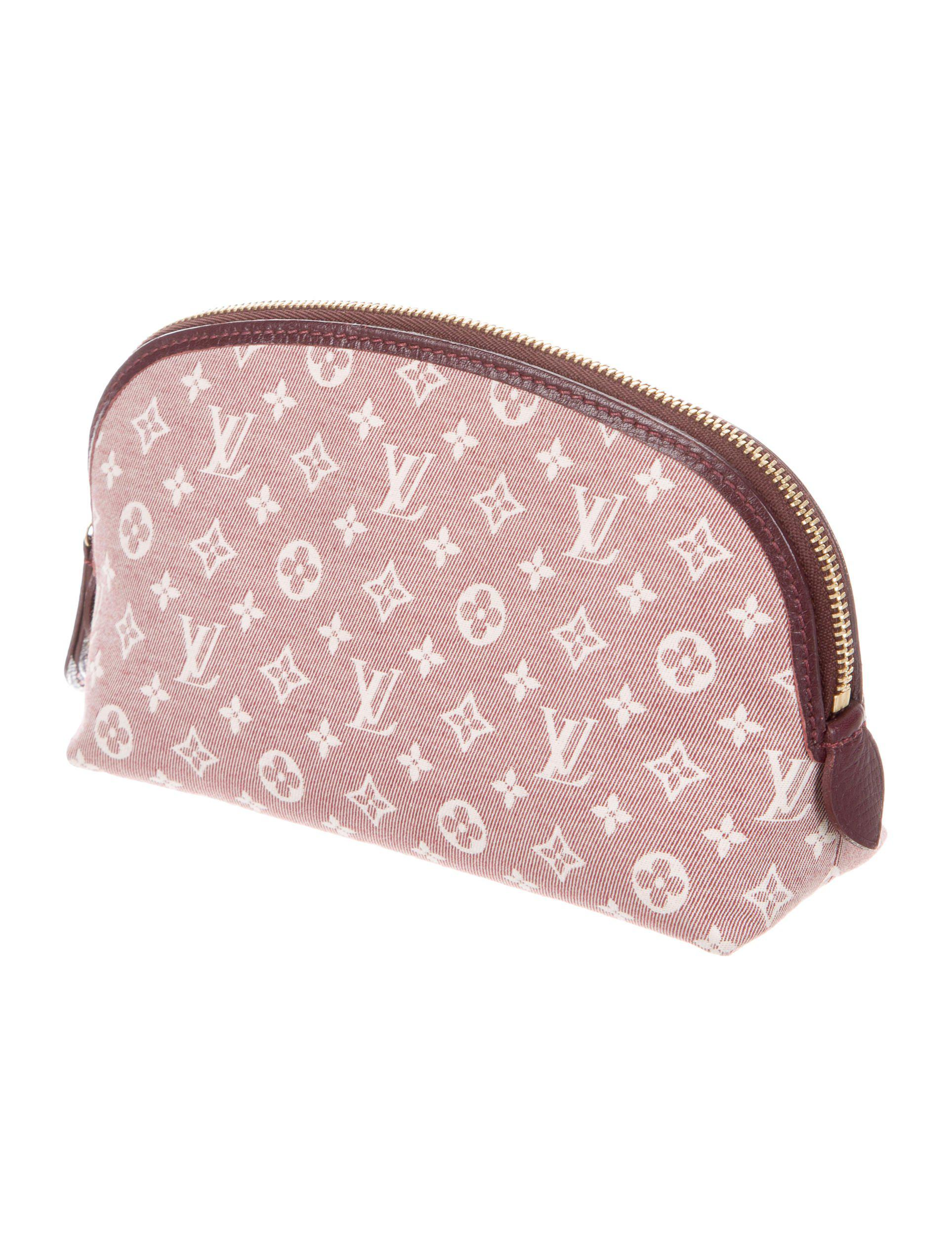 3f157695267 Lyst - Louis Vuitton Monogram Idylle Cosmetic Pouch Gold in Metallic